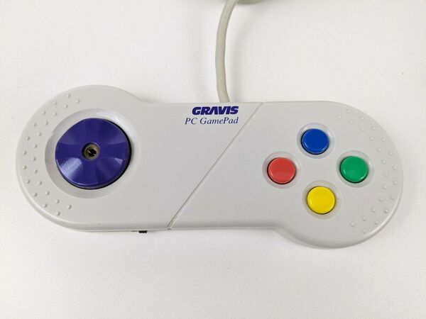 Gravis game controllers